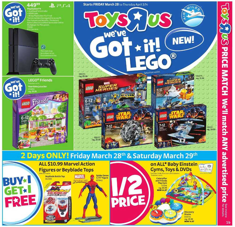 Toys R Us Flyer : Toys r us flyers