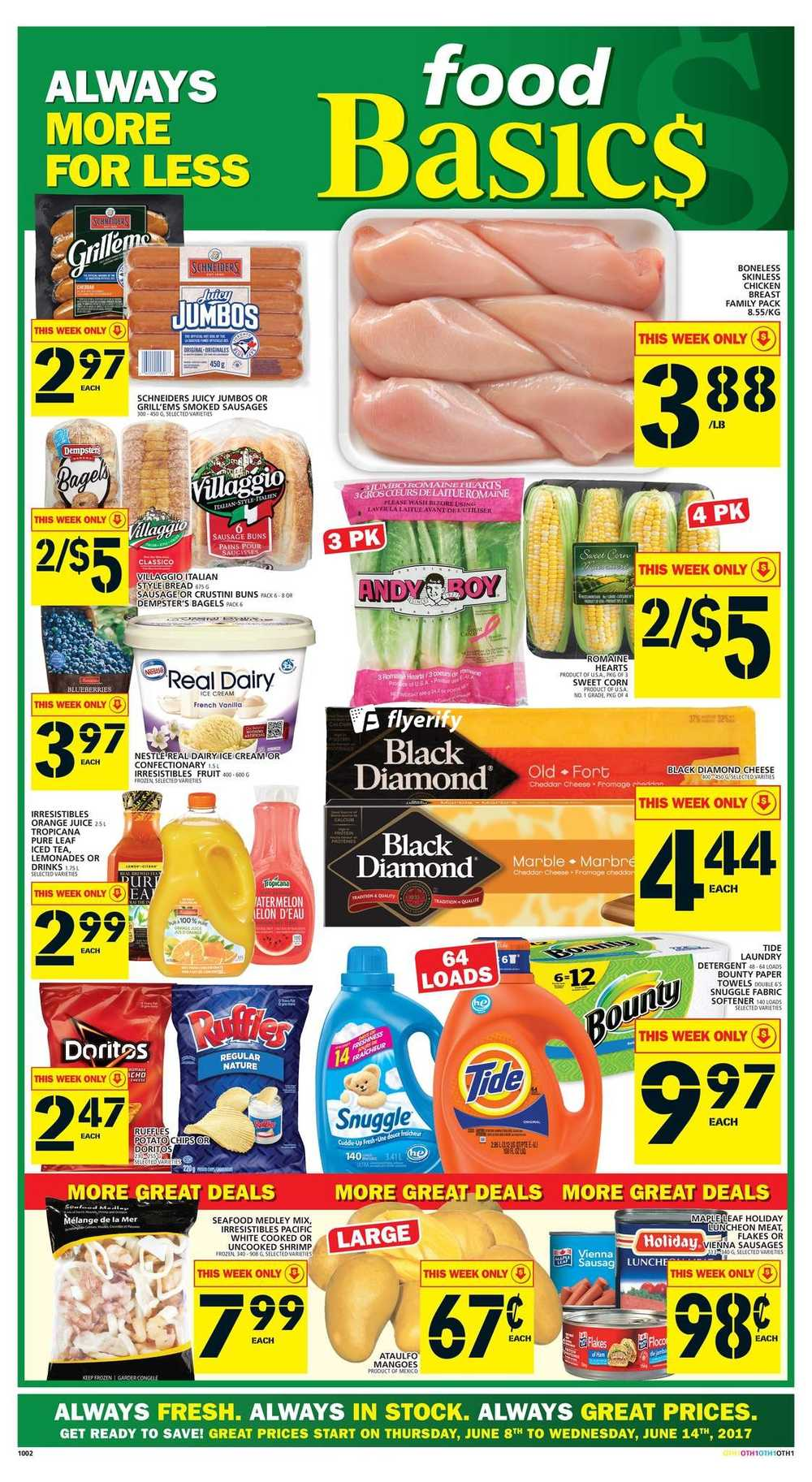 Food Basics Flyer June 8 To 14 Canada
