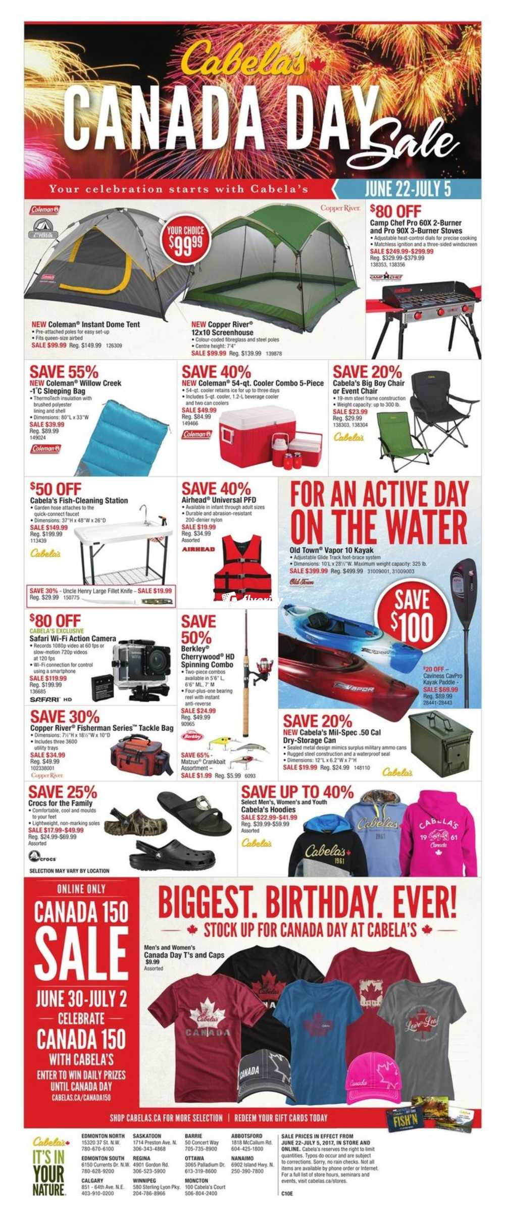 Cabela S Flyer June 22 To July 5 Canada