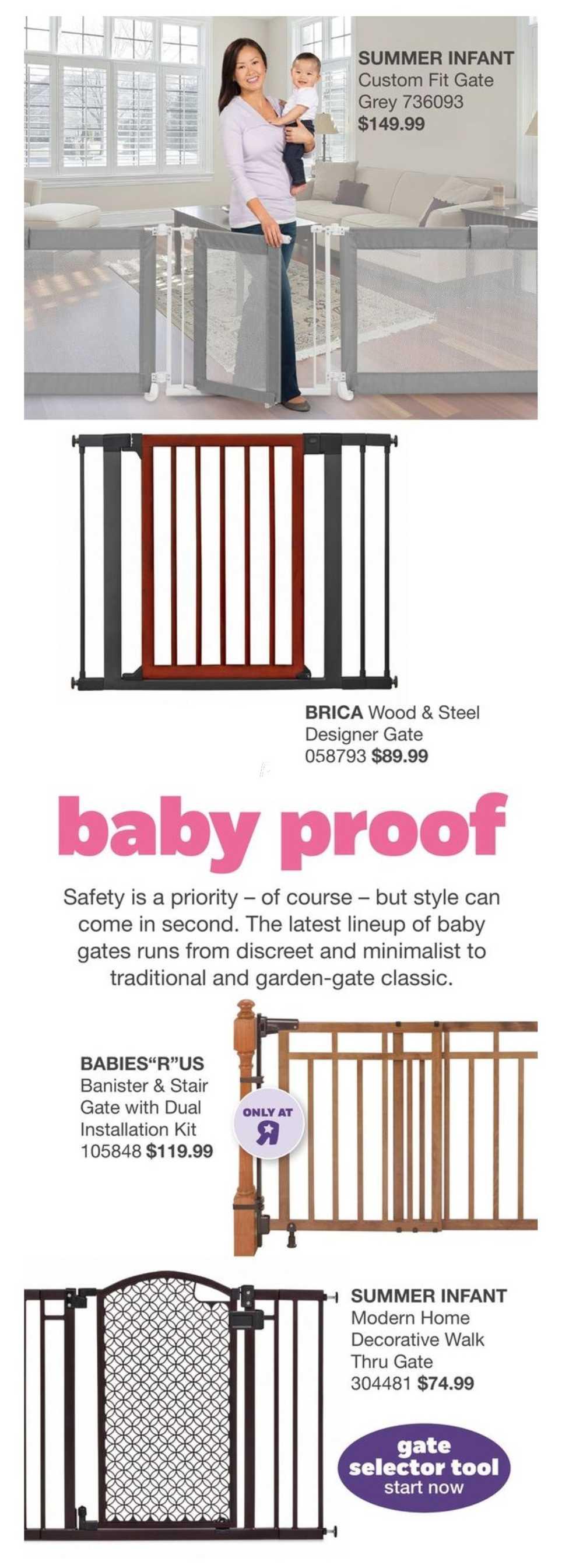 Babies R Us Nursery Look Book June 30 To January 31 Canada