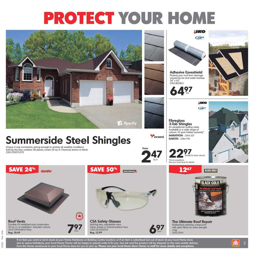 Home Hardware Building Centre On Flyer July 5 To 12 Canada