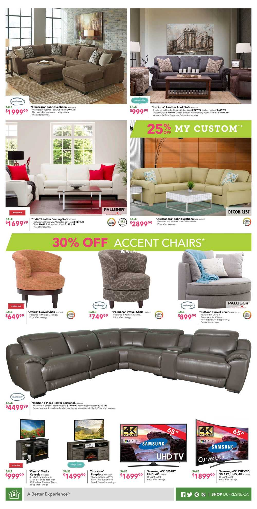 Marvelous Dufresne City Flyer July 13 To 23 Canada Lamtechconsult Wood Chair Design Ideas Lamtechconsultcom