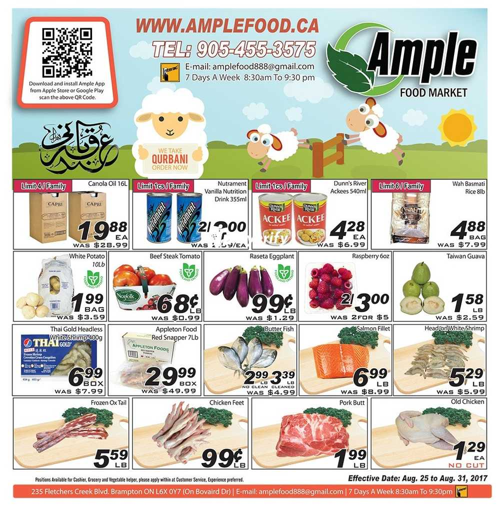 ample foods flyer