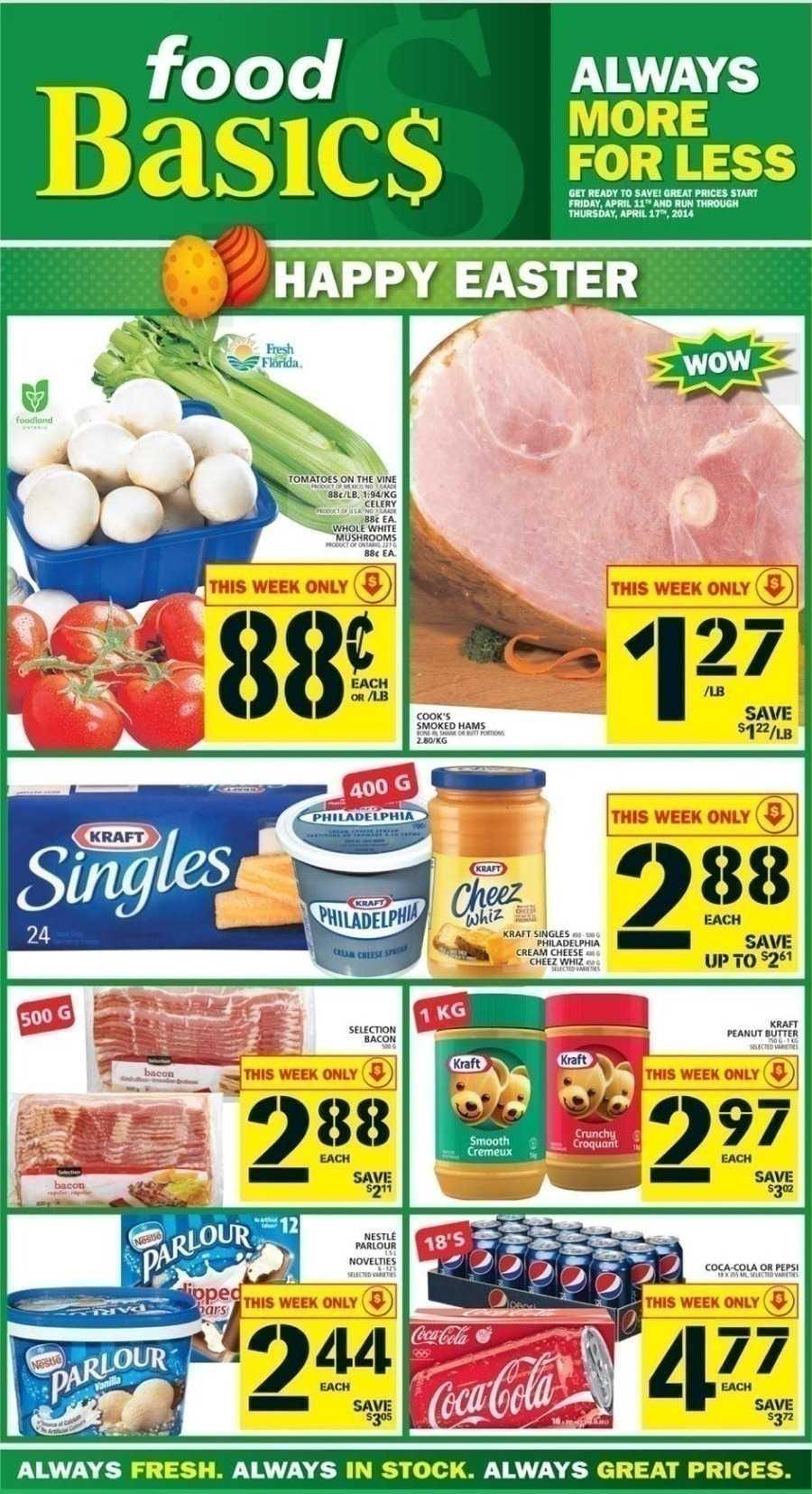Weekly Flyer Of Food Basics