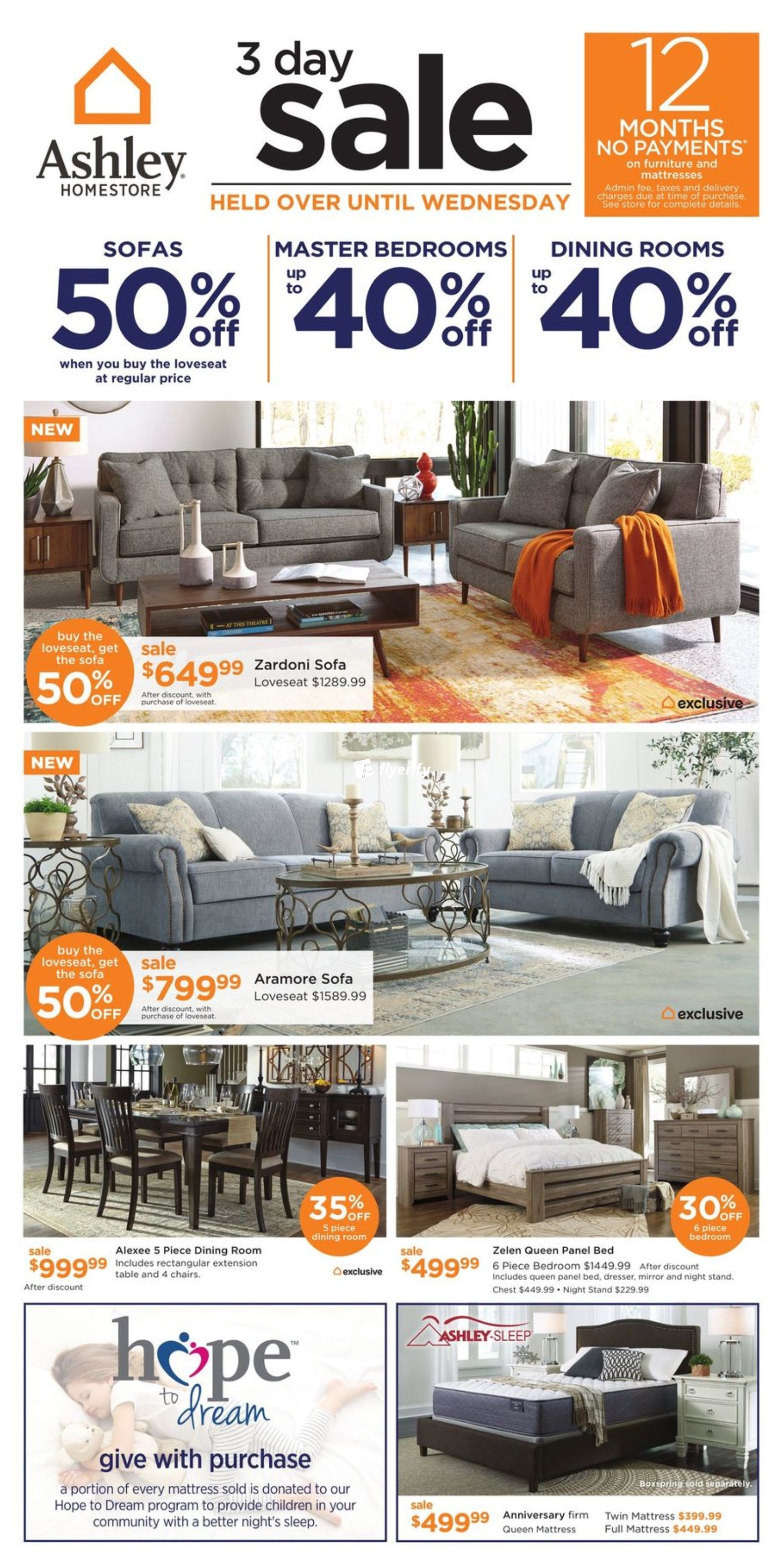 Ashley Homestore On Flyer October 2 To 4 Canada