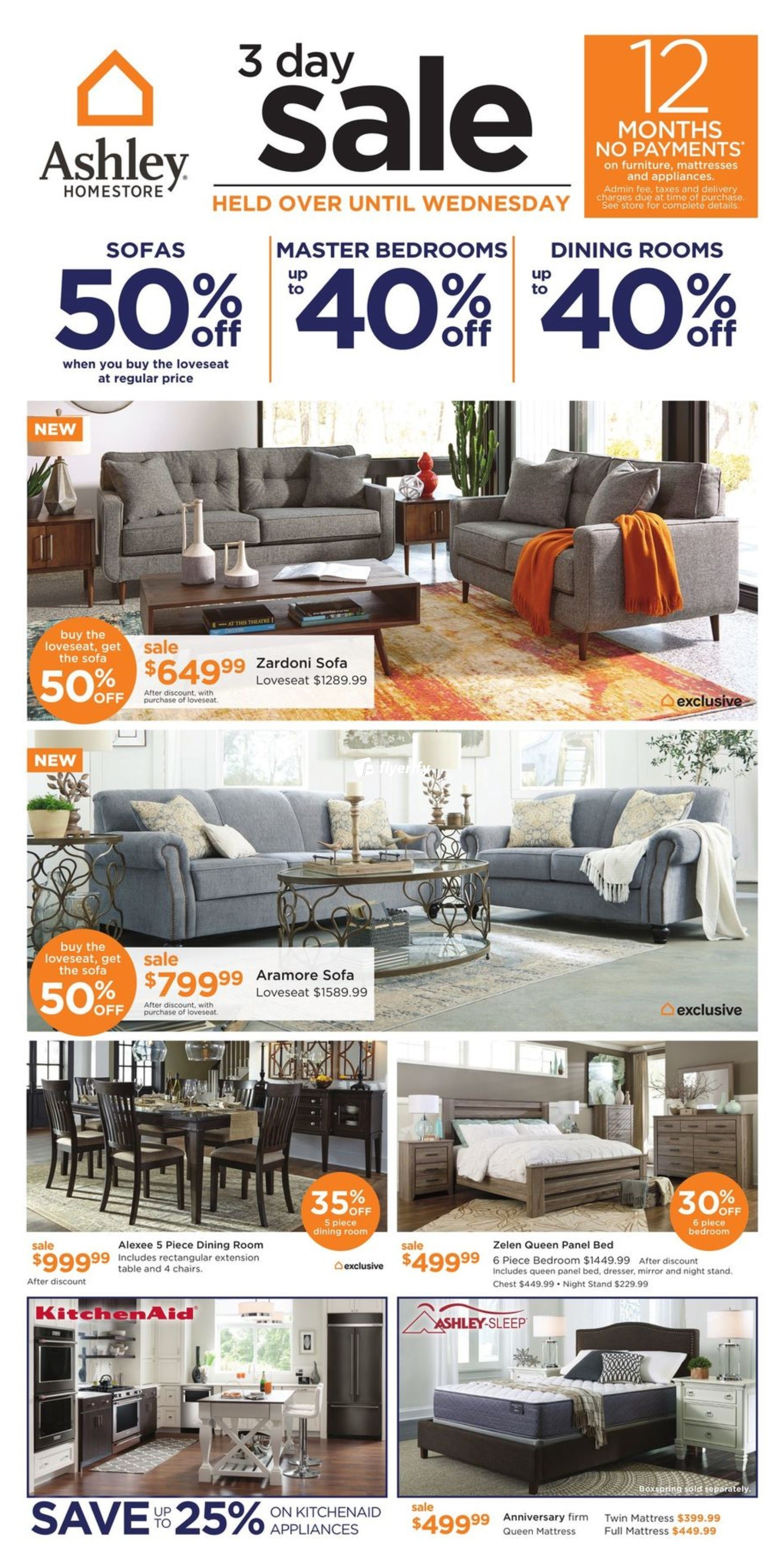 Ashley Homestore West Flyer October 2 To 4 Canada