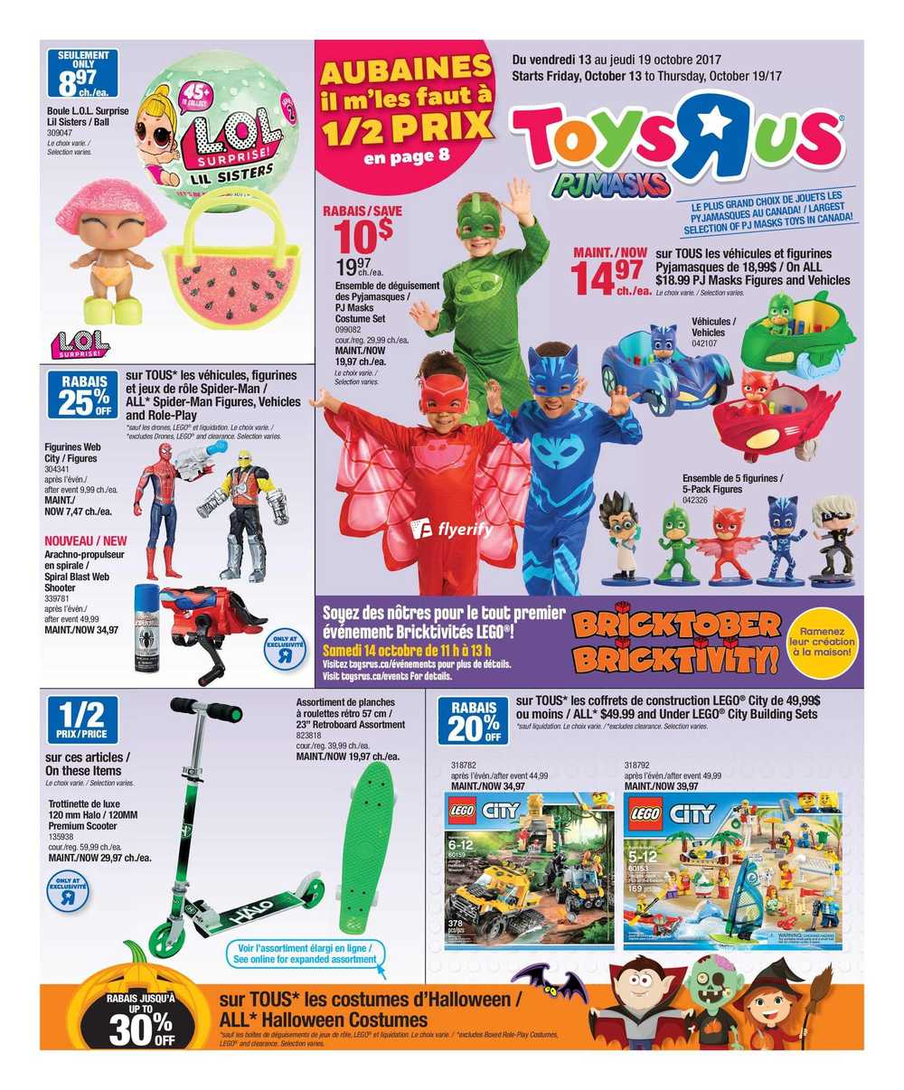 Toys r us qc flyer october 13 to 19 canada for 10 in 1 game table toys r us