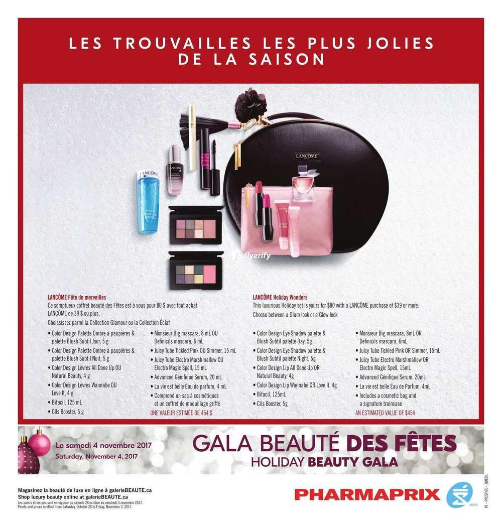 Pharmaprix Flyer October 28 to November 3 Canada