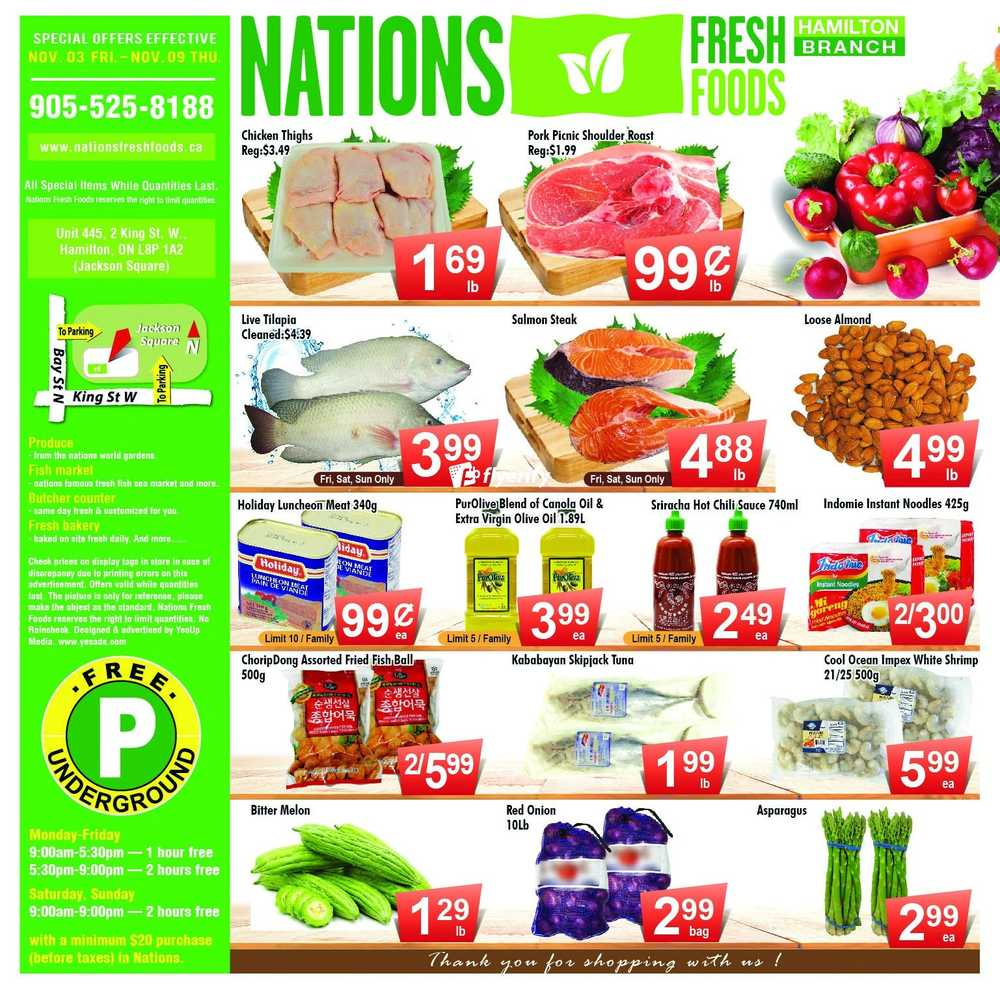 Nations Food Market Hamilton