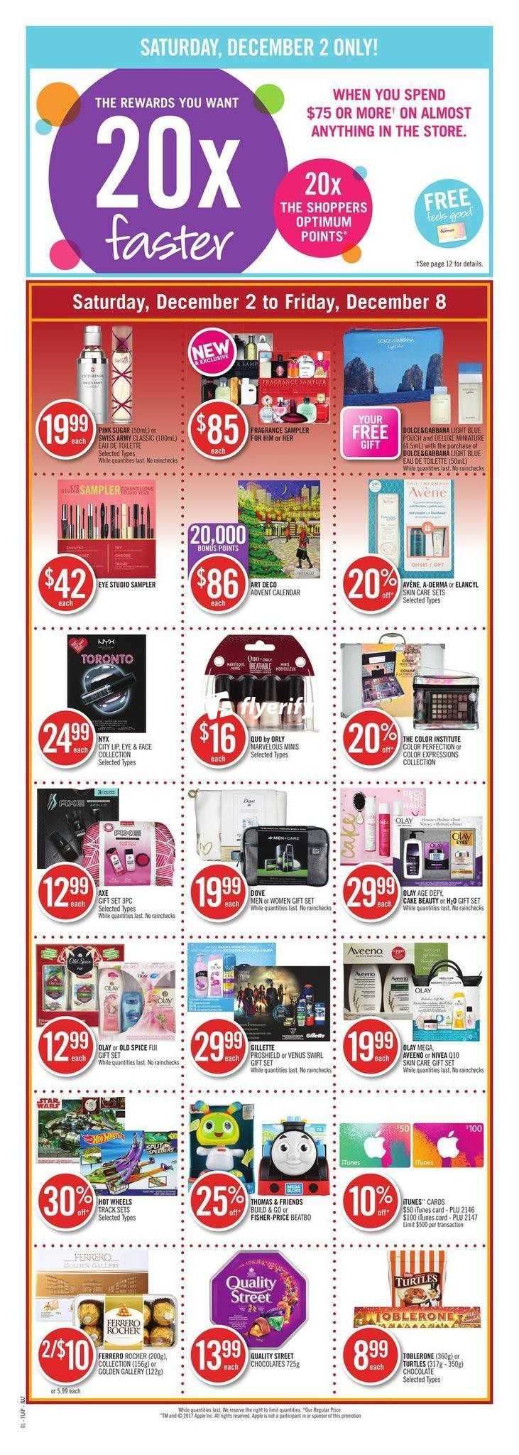 Top Five Shoppers Drug Mart Flyer December 13 - Circus