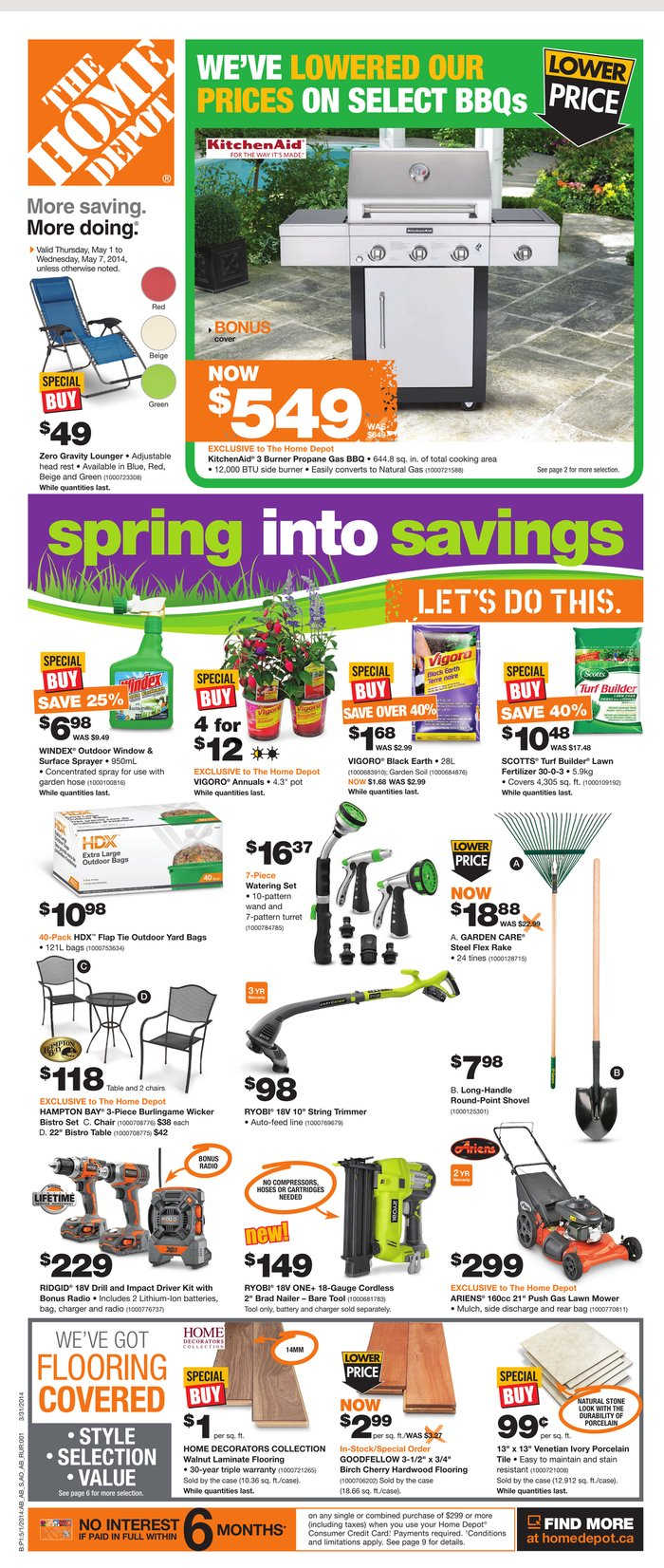 Home Depot Canada Weekly Flyer May 1 to 7 Canada