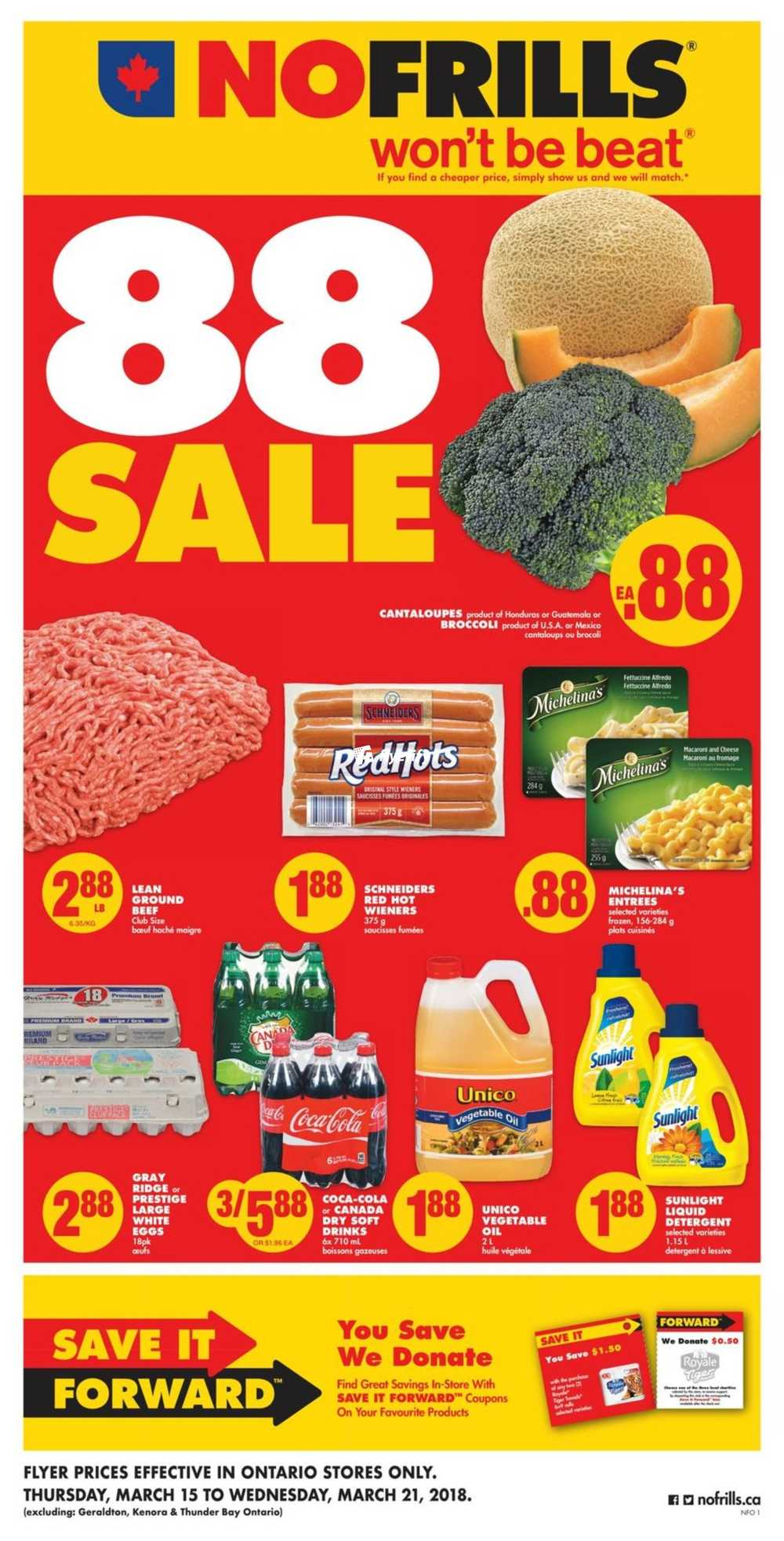 No Frills On Flyer March 15 To 21 Canada