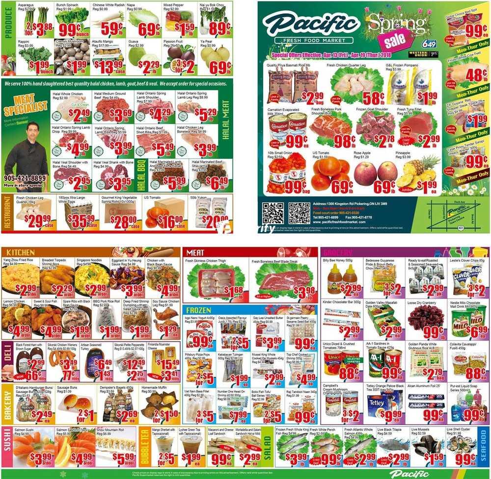 Pacific Food Market Flyer