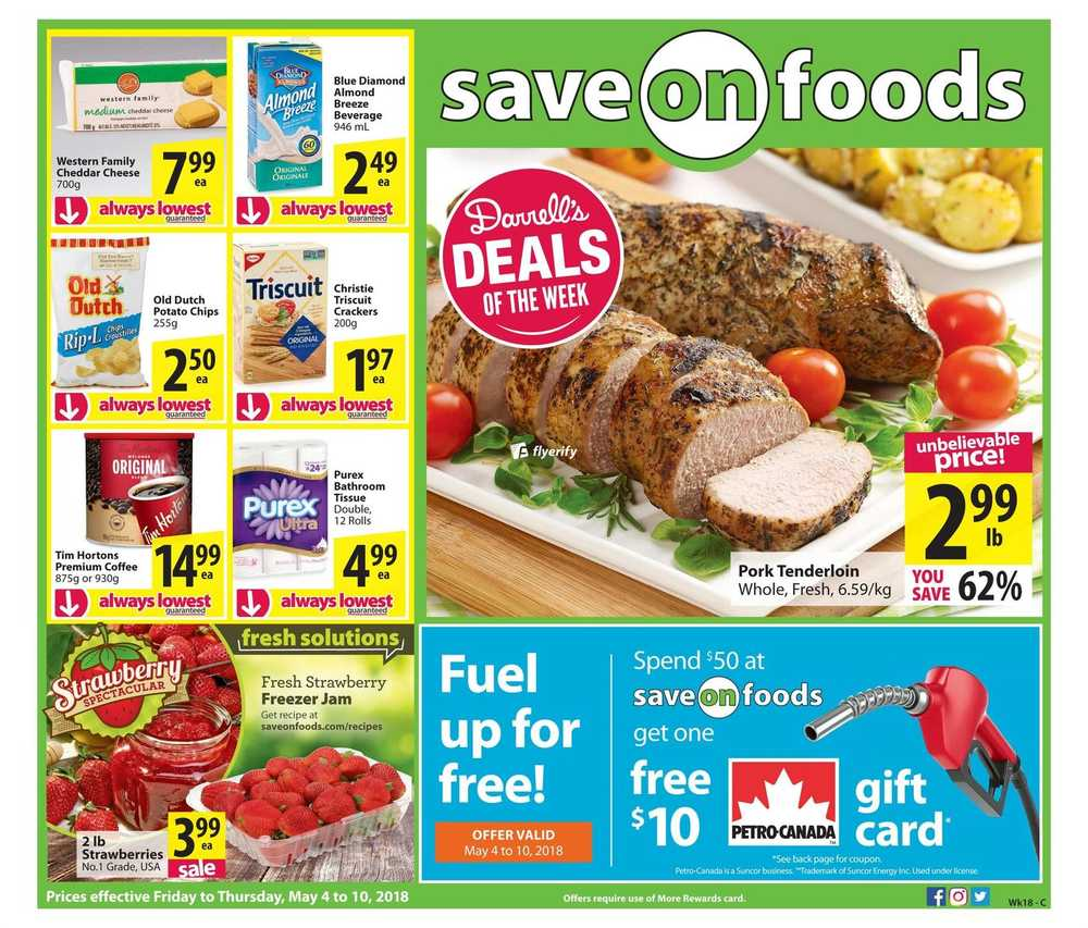 Save Foods Flyers