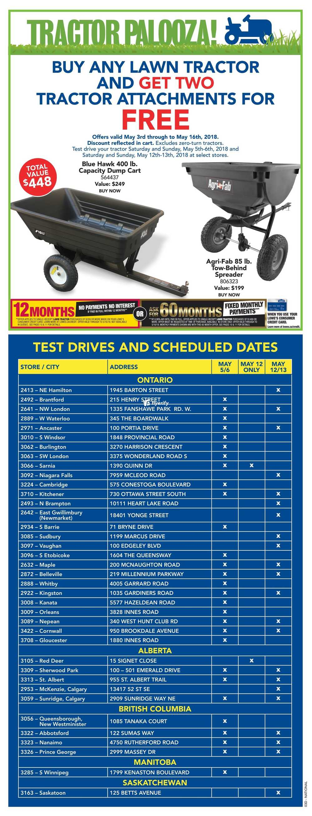 Lowe\'s Flyer May 10 to 16 Canada