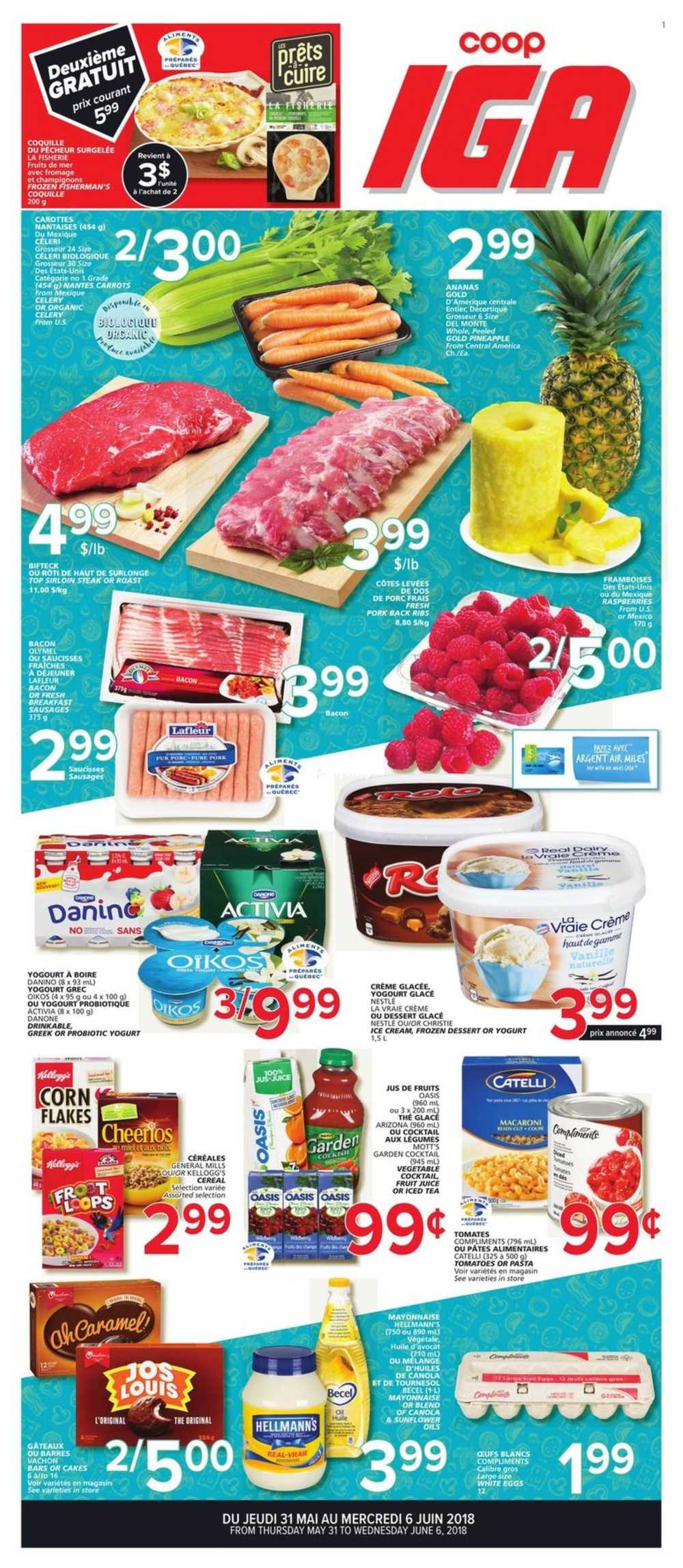 Coop IGA Flyer May 31 to June 6 Canada