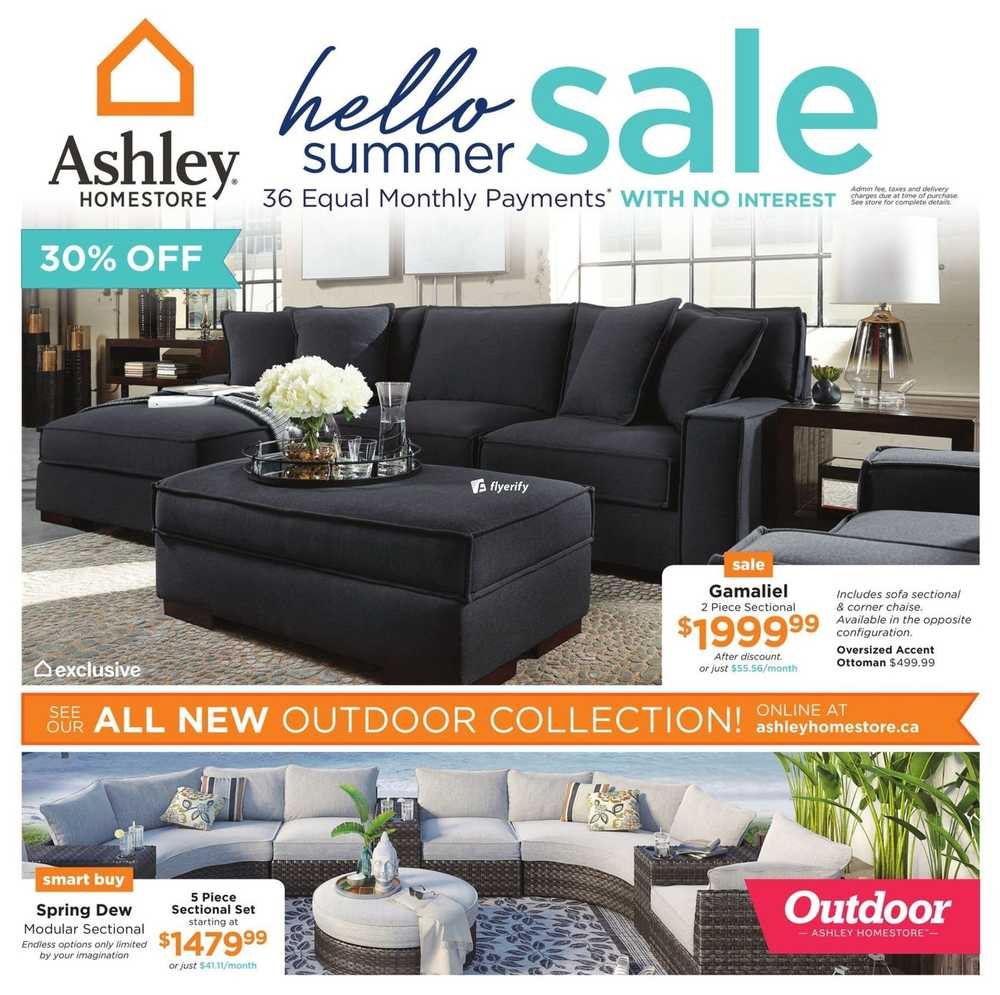 Ashley Furniture Homestore Flyers