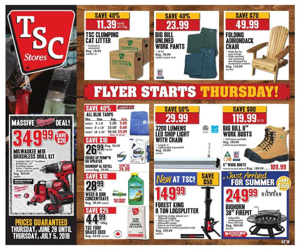 TSC Stores Flyer June 28 to July 5 Canada