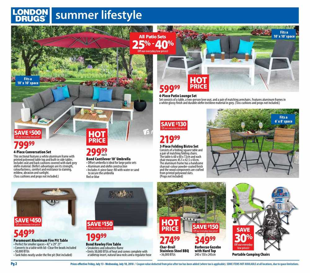 Previous Next › - London Drugs Flyer July 13 To 18 Canada