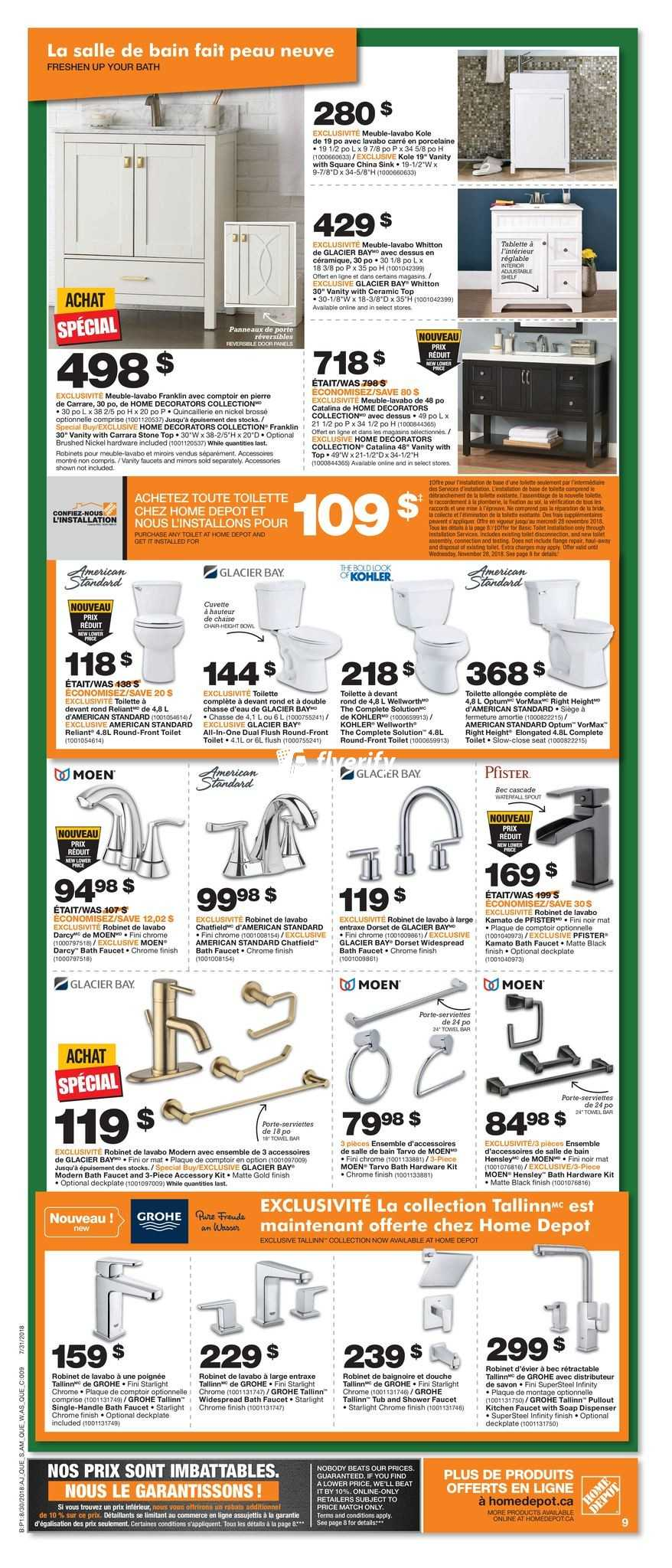 Home Depot Qc Flyer August 30 To September 5 Canada