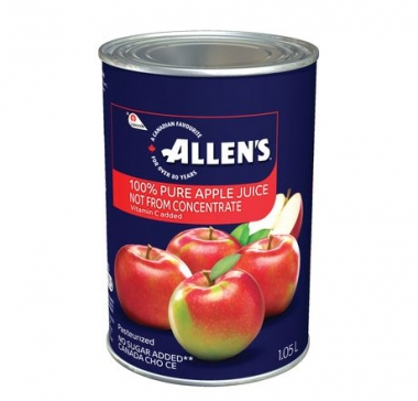 Allen's Apple Juice, 1.05LT