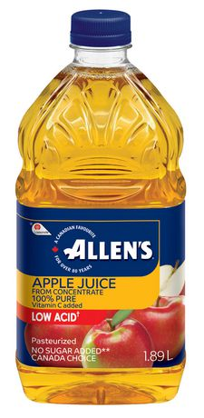 Allen's Apple Juice, 1.89LT