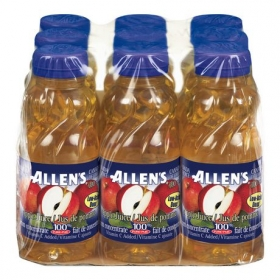 Allen's Apple Juice, 9x300ML