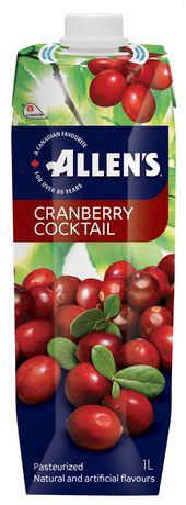 Allen's Cranberry Cocktail, 1LT