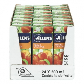 Allen's Peach Cocktail, 24x200ML