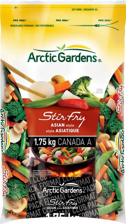 Arctic Gardens Asian Stir Fry Vegetables Mix 1.75kg