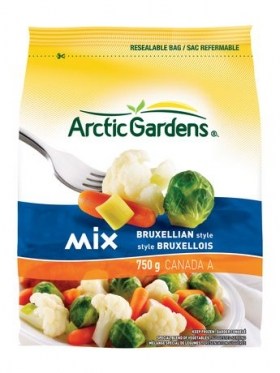 Arctic Gardens Bruxellian Vegetable Mix 750g