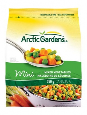 Arctic Gardens Mixed Vegetables 750g