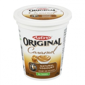 Astro Original Balkan Style Flavoured Yogourt - Caramel