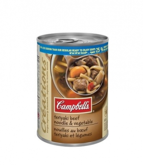 Campbell's Creations Teriyaki Beef Noodle & Vegetable