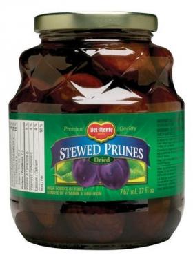 Del Monte Stewed Prunes