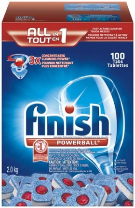 Finish Powerball 100 CT Fresh Scent