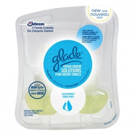 Glade PlugIns Scented Oil Refill - Tough Odor Solutions Clea