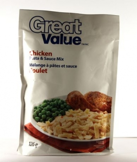Great Value Chicken Pasta & Sauce