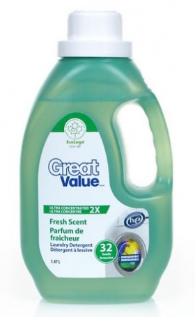 Great Value ECO Ultra Concentrated 2X Laundry Detergent