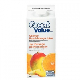 Great Value - Orange Peach Mango - 1.75 LT Gable