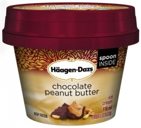 Haagen-Dazs Chocolate Peanut Butter 118ml