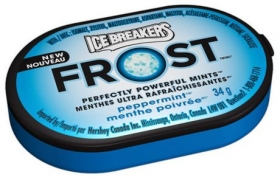 ICE BREAKERS FROST Peppermint Mints 34g