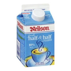 Neilson Fresh Half & Half Cream, 500 mL