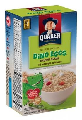 Quaker Oats Instant Oatmeal Dino Eggs