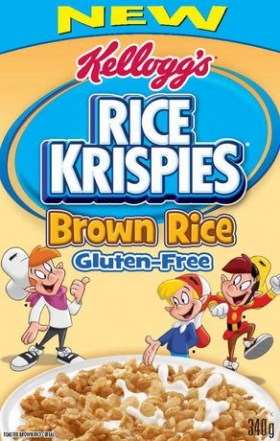 Rice Krispies* Brown Rice Gluten Free cereal