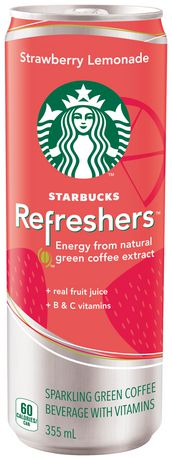 Starbucks Refreshers Strawberry Lemonade 355ml
