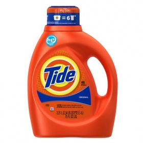 Tide HE Original Scent Liquid Laundry Detergent, 48 Loads 2.