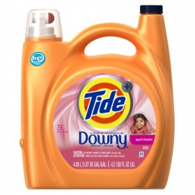 Tide Plus A Touch of Downy April Fresh Scent High Efficiency